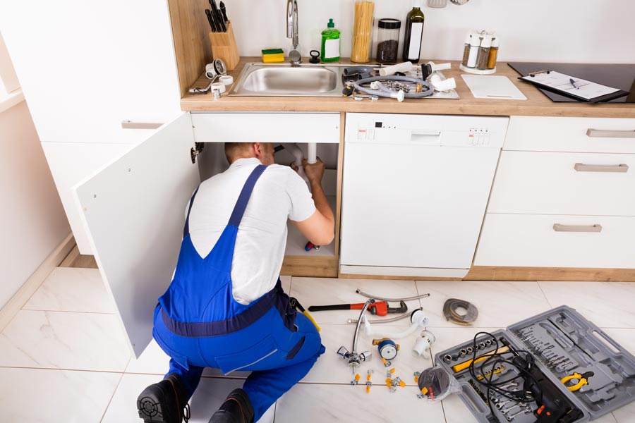 maintaining home plumbing system